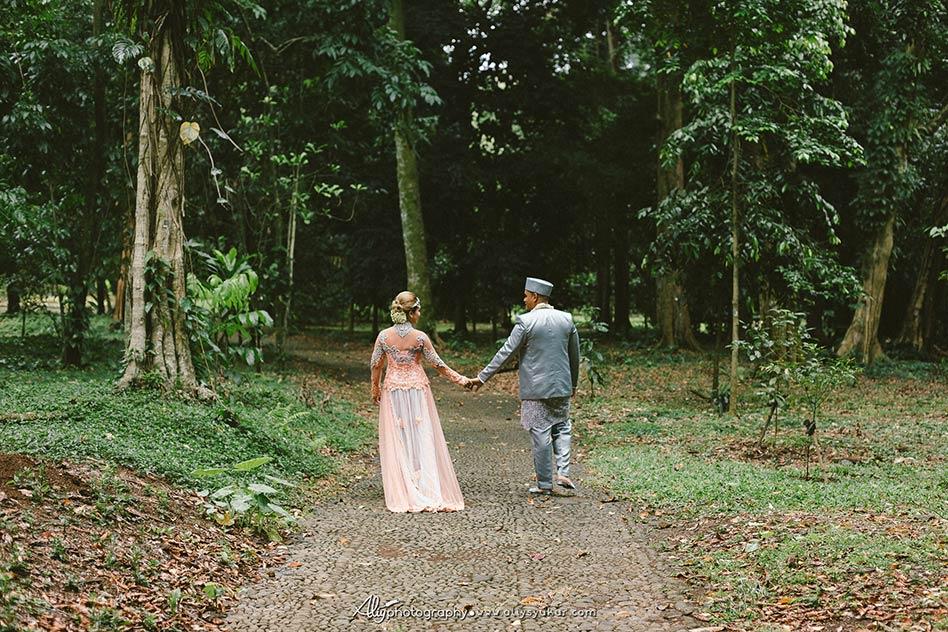 American Couple Post Wedding - Kebun Raya Bogor Post Wedding 7