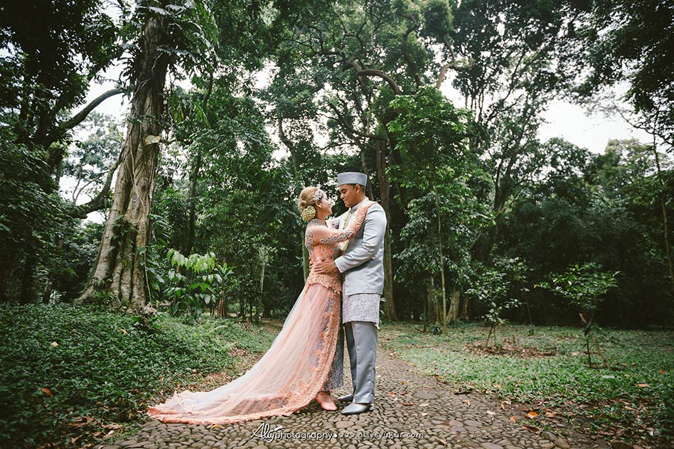 American Couple Post Wedding - Kebun Raya Bogor Post Wedding 9