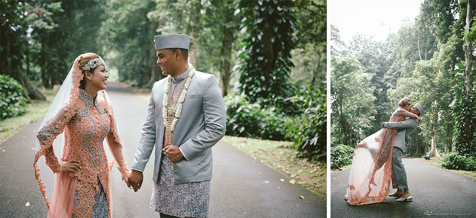 American Couple Post Wedding - Kebun Raya Bogor Post Wedding 12