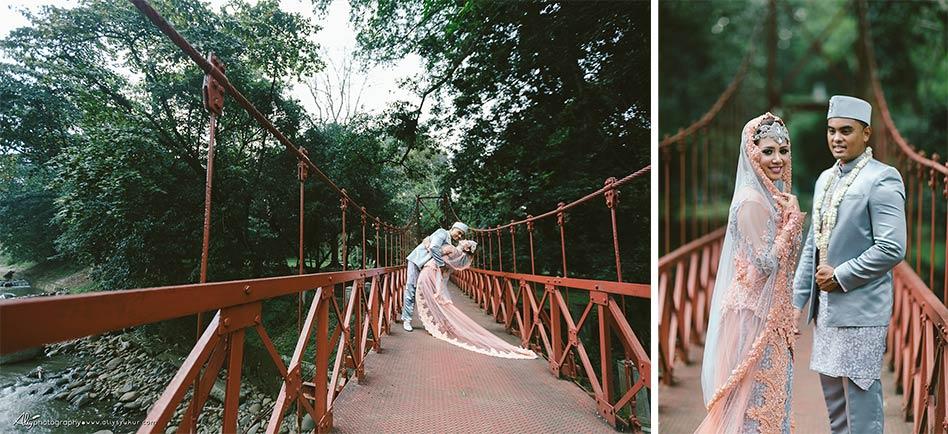 American Couple Post Wedding - Kebun Raya Bogor Post Wedding 16